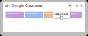 Membuat Kelas di Google Classroom