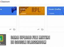 CARA UPLOAD MATERI DI GOOGLE CLASSROOM