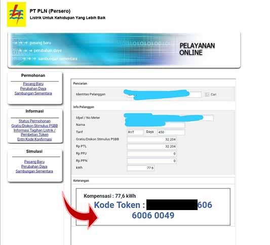 token listrik gratis dari PLN pemerintah