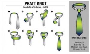 Tutorial dasi menggunakan pratt knot